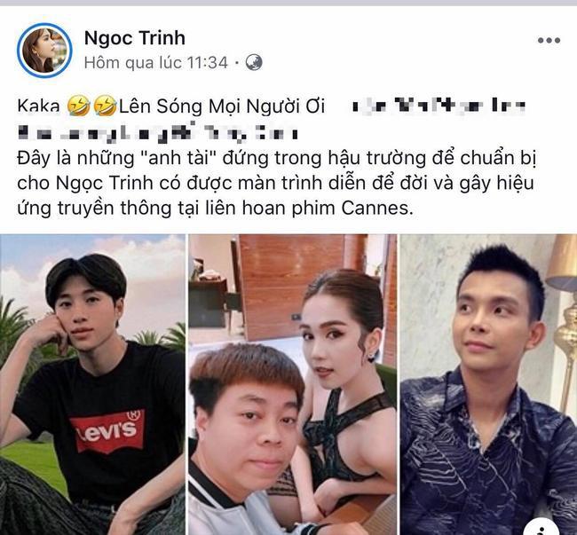 Sao Việt hôm nay (25/5): Ngọc Trinh gọi ồn ào LHP Cannes là màn trình diễn để đời, Nam Thư đáp trả anti-fan - Ảnh 2.