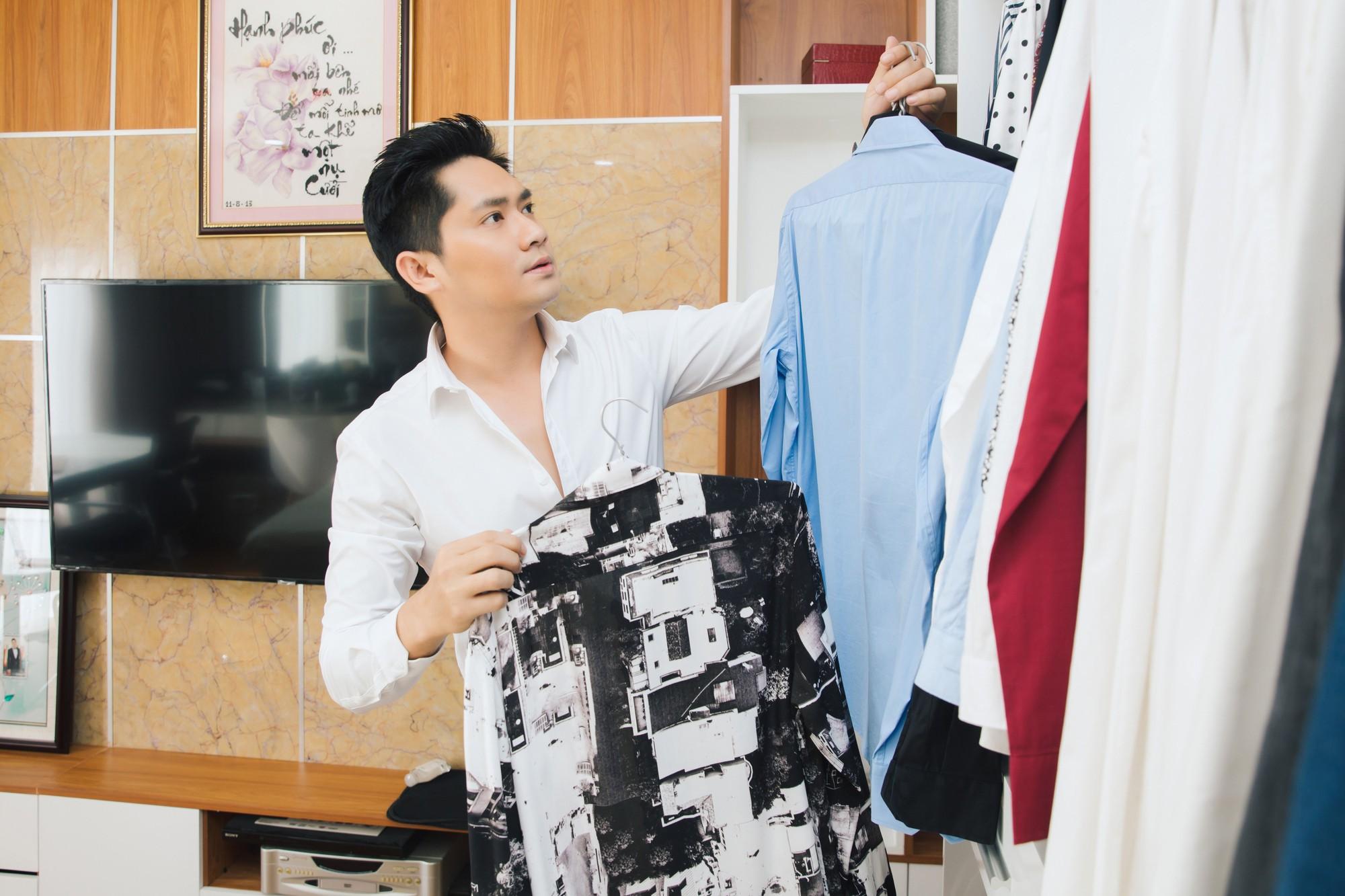 Diễn viên Minh Luân tự hào khoe căn hộ rộng 100 m2 sau 10 năm lập nghiệp ở TP HCM  - Ảnh 13.