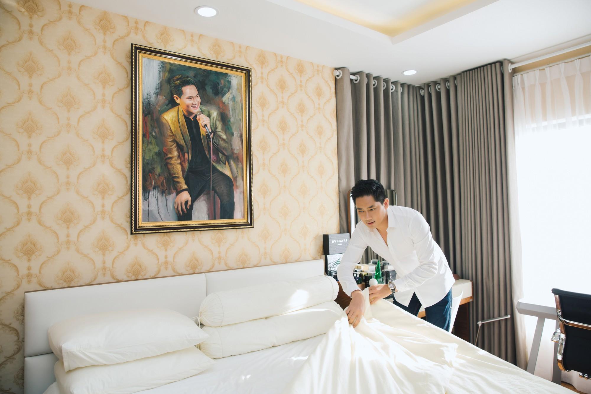 Diễn viên Minh Luân tự hào khoe căn hộ rộng 100 m2 sau 10 năm lập nghiệp ở TP HCM  - Ảnh 12.