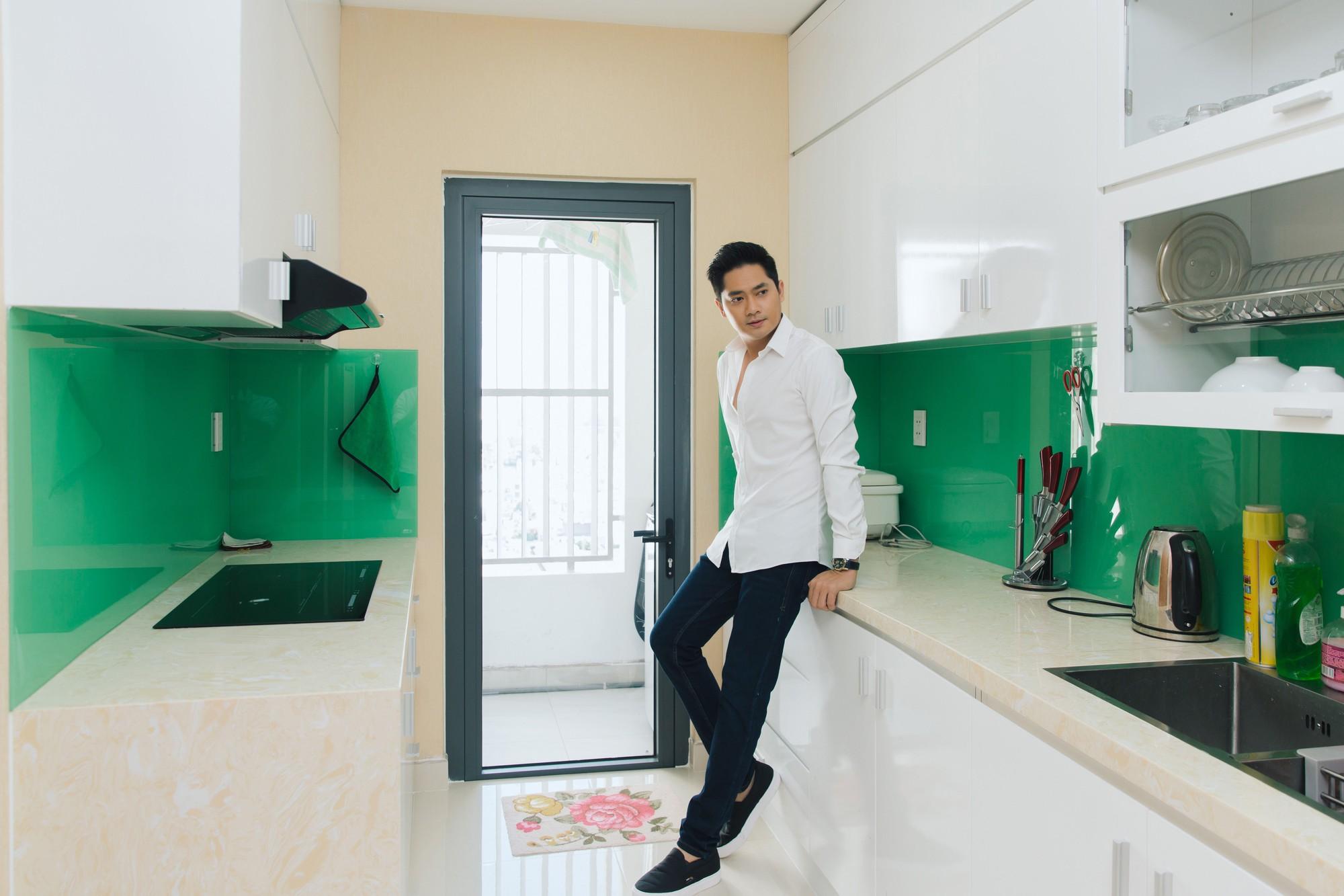 Diễn viên Minh Luân tự hào khoe căn hộ rộng 100 m2 sau 10 năm lập nghiệp ở TP HCM  - Ảnh 17.