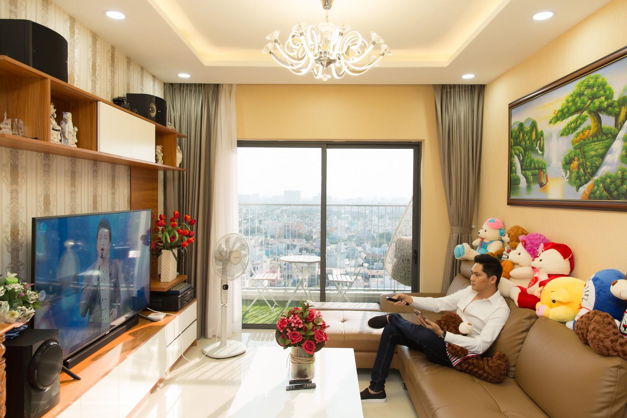Diễn viên Minh Luân tự hào khoe căn hộ rộng 100 m2 sau 10 năm lập nghiệp ở TP HCM  - Ảnh 3.