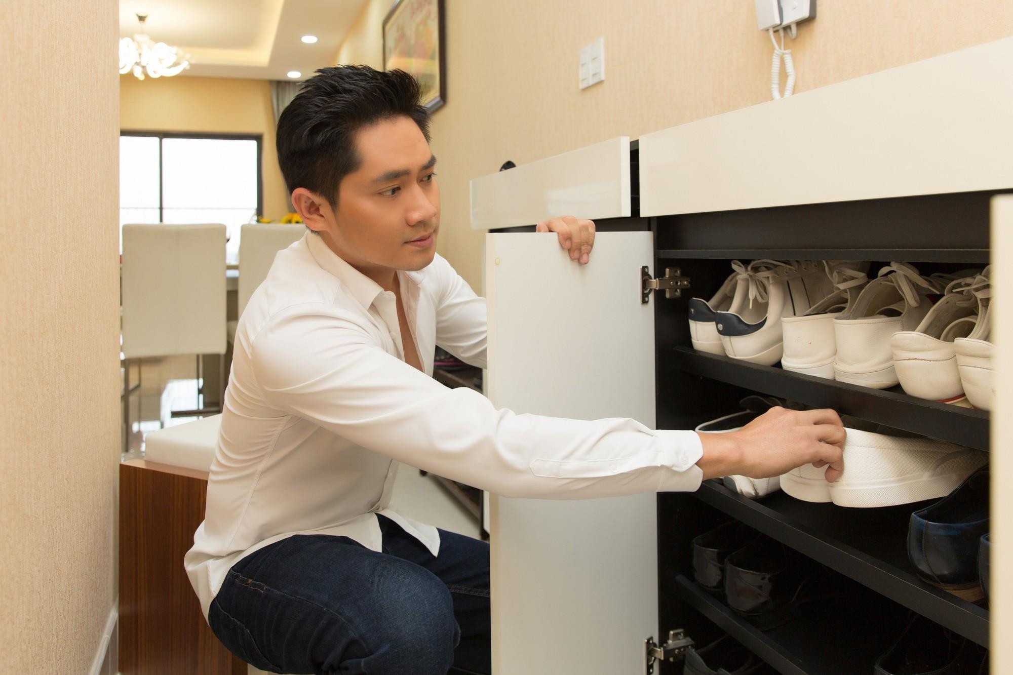 Diễn viên Minh Luân tự hào khoe căn hộ rộng 100 m2 sau 10 năm lập nghiệp ở TP HCM  - Ảnh 15.
