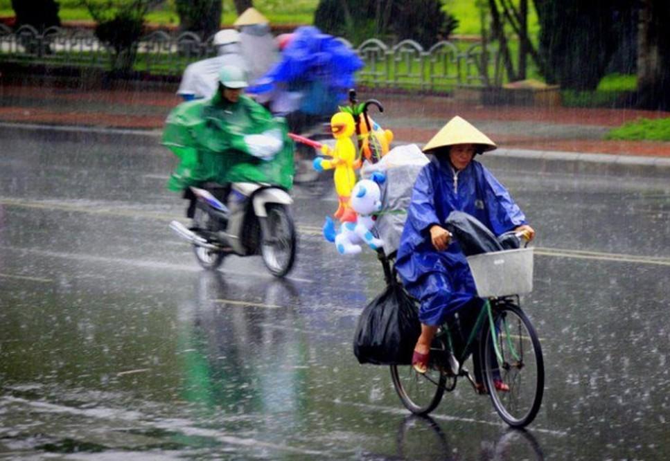 Bắc Bộ sắp đón mưa lớn diện rộng - Ảnh 1.