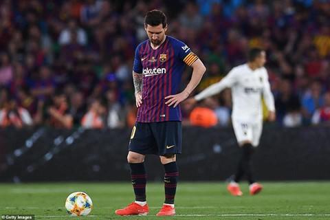 Barca thua Valencia - mặt trái của thiên tài Messi - Ảnh 3.