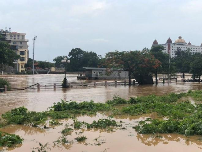 Mưa lũ lớn tại Quảng Ninh, 1 người mất tích - Ảnh 1.