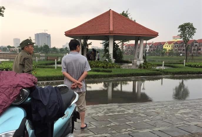 Bắc Ninh: Phát hiện thi thể người đàn ông dưới hồ điều hoà với nhiều vết đâm  - Ảnh 1.
