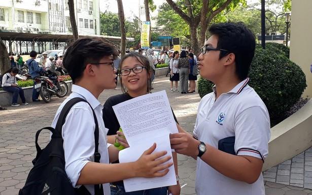Gợi ý giải chi tiết đề Toán điều kiện thi vào lớp 10 THPT chuyên ĐH Sư phạm Hà Nội năm 2019