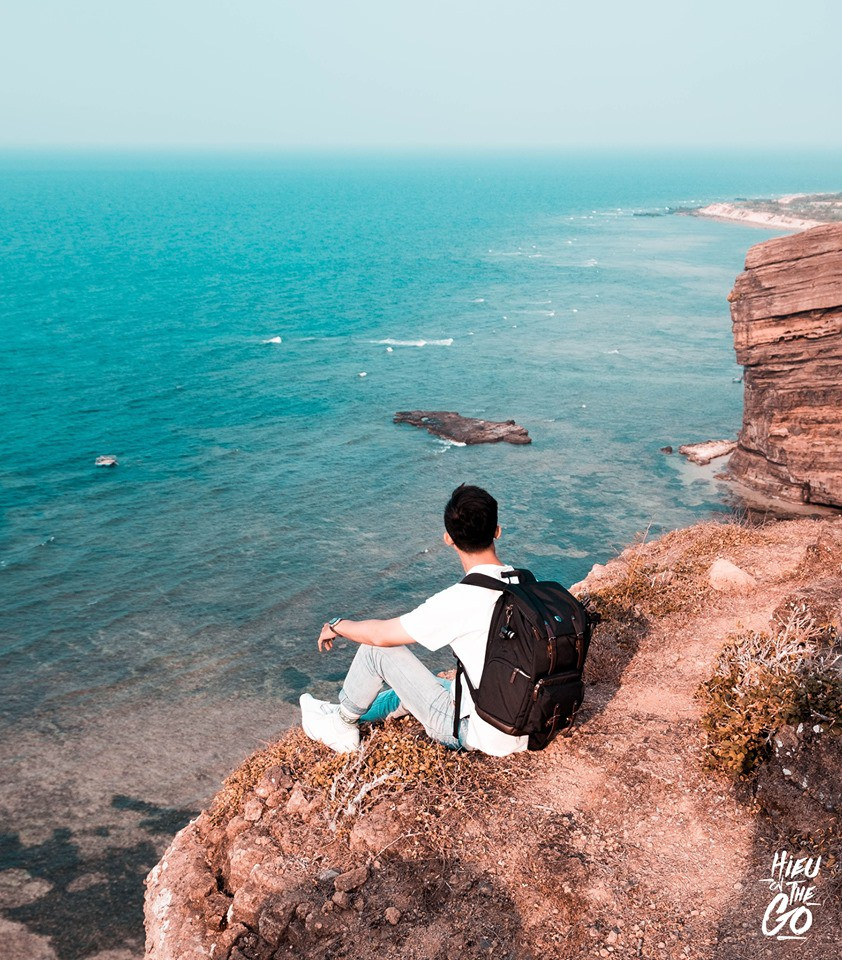 Chuyến du lịch Lý Sơn tuyệt đẹp nhưng đầy tiếc nuối của 9X Đà Nẵng - Ảnh 9.