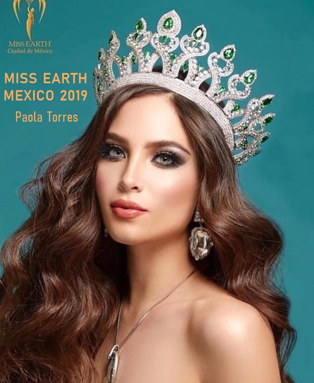 Hoa hậu Trái đất Mexico 2019 được dự đoán có khả năng kế nhiệm Phương Khánh  - Ảnh 1.