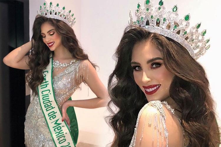 Hoa hậu Trái đất Mexico 2019 được dự đoán có khả năng kế nhiệm Phương Khánh  - Ảnh 3.