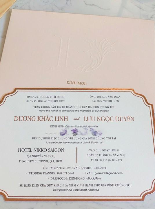 Sao Việt hôm nay (28/5): Đàm Thu Trang bị nghi đang mang bầu, lộ thiệp cưới của Dương Khắc Linh và Sara Lưu - Ảnh 3.