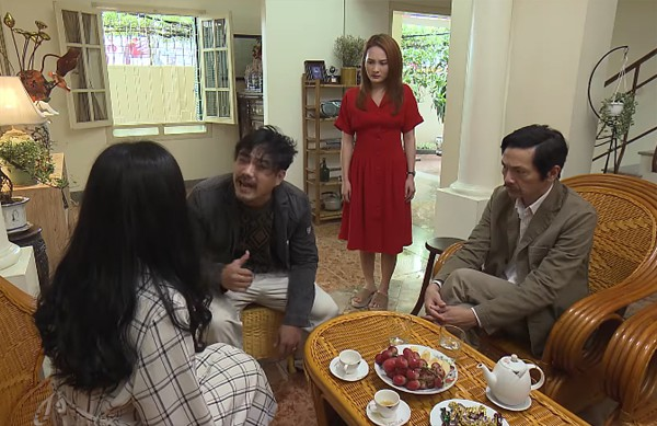 Về nhà đi con tập 32: Thư đồng ý cưới Vũ thông qua bàn bạc hôn nhân, Khải xúc phạm vợ trước mặt ông Sơn - Ảnh 2.