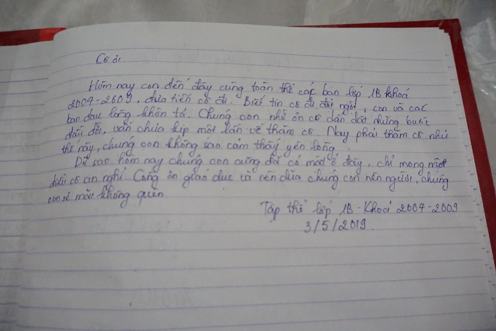 Vụ cô giáo tiểu học bị lái xe say rượu tông tử vong ở hầm Kim Liên: Những lời tiễn biệt xúc động nơi sổ tang  - Ảnh 3.