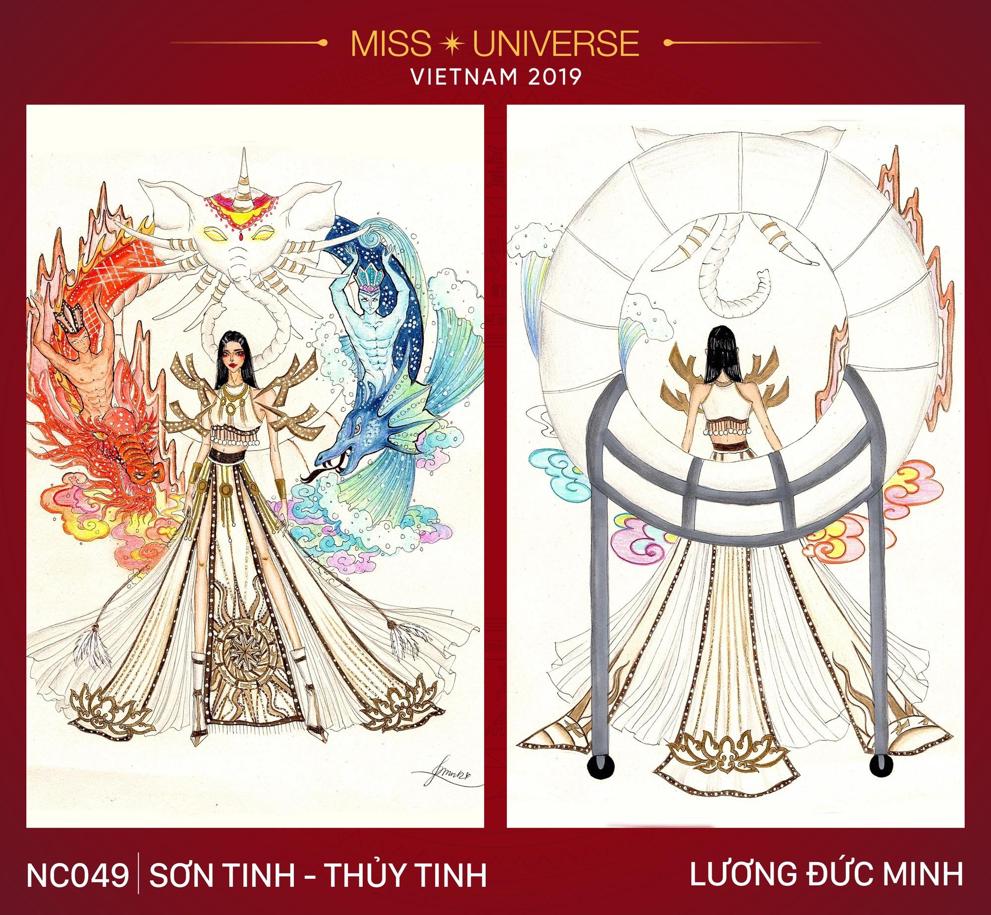 8 mẫu thiết kế dân tộc đang được Á hậu Hoàng Thùy chấm để mang tới Miss Universe 2019  - Ảnh 1.