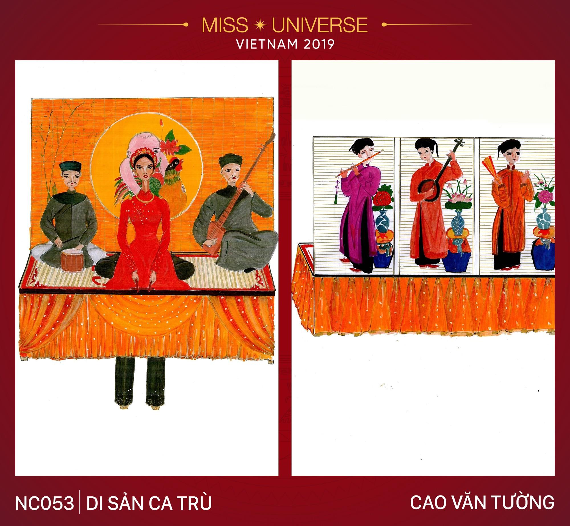 8 mẫu thiết kế dân tộc đang được Á hậu Hoàng Thùy chấm để mang tới Miss Universe 2019  - Ảnh 3.