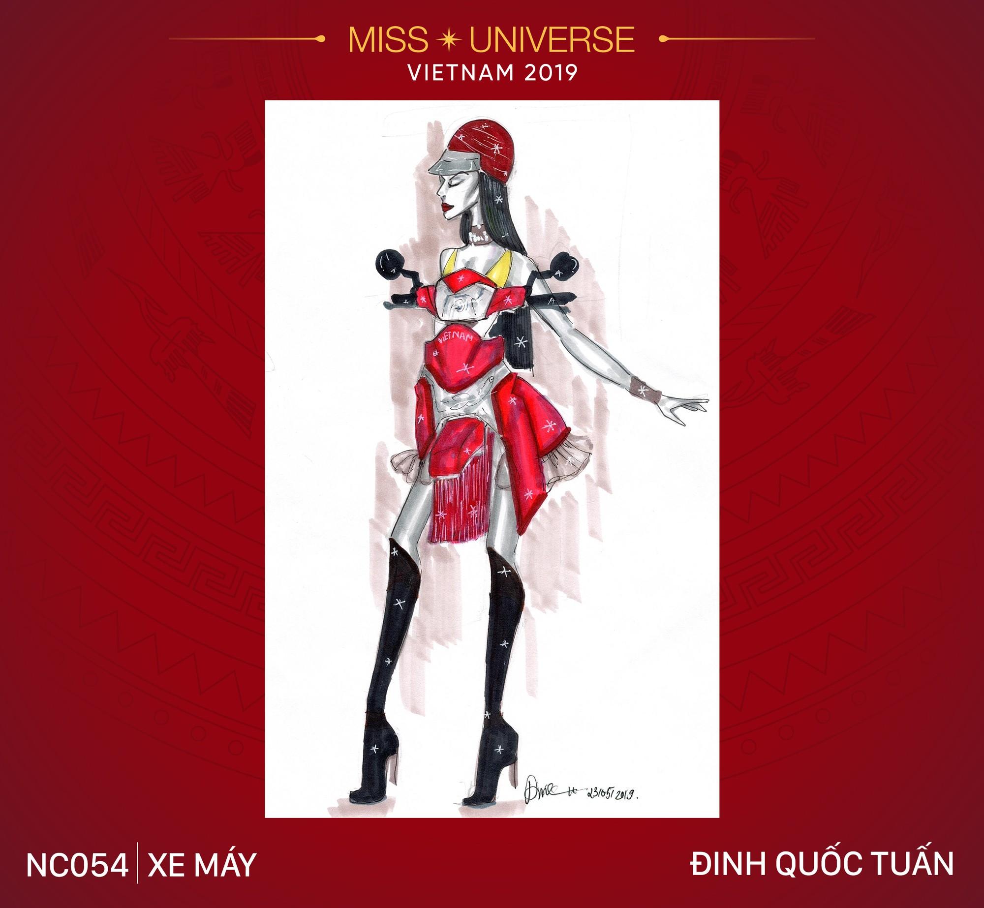8 mẫu thiết kế dân tộc đang được Á hậu Hoàng Thùy chấm để mang tới Miss Universe 2019  - Ảnh 4.