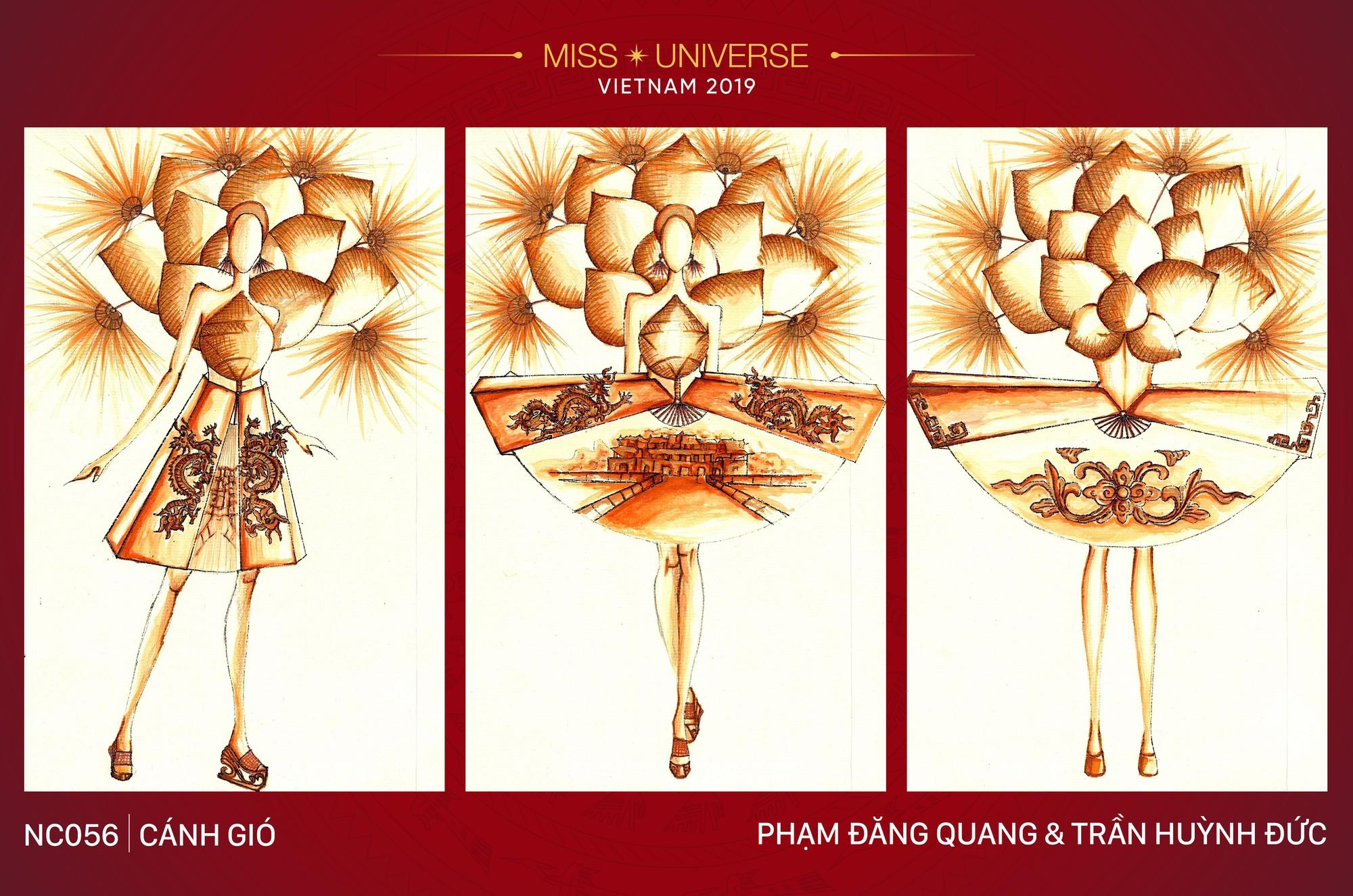 8 mẫu thiết kế dân tộc đang được Á hậu Hoàng Thùy chấm để mang tới Miss Universe 2019  - Ảnh 5.