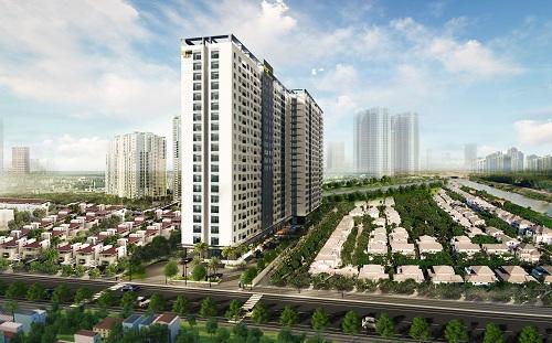 Doanh nghiệp Sài Gòn đua xây căn hộ tại Bình Dương - Ảnh 1.