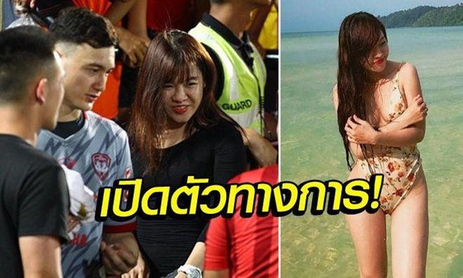 Báo Thái Lan khen vẻ đẹp gợi cảm của bạn gái Văn Lâm - Ảnh 1.