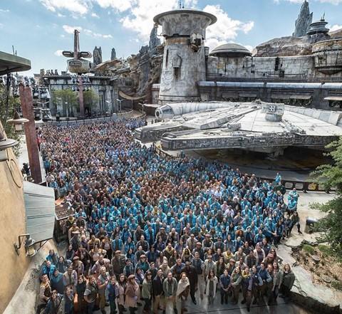 Chiêm ngưỡng công viên chủ đề Star Wars trị giá tỉ USD - Ảnh 1.