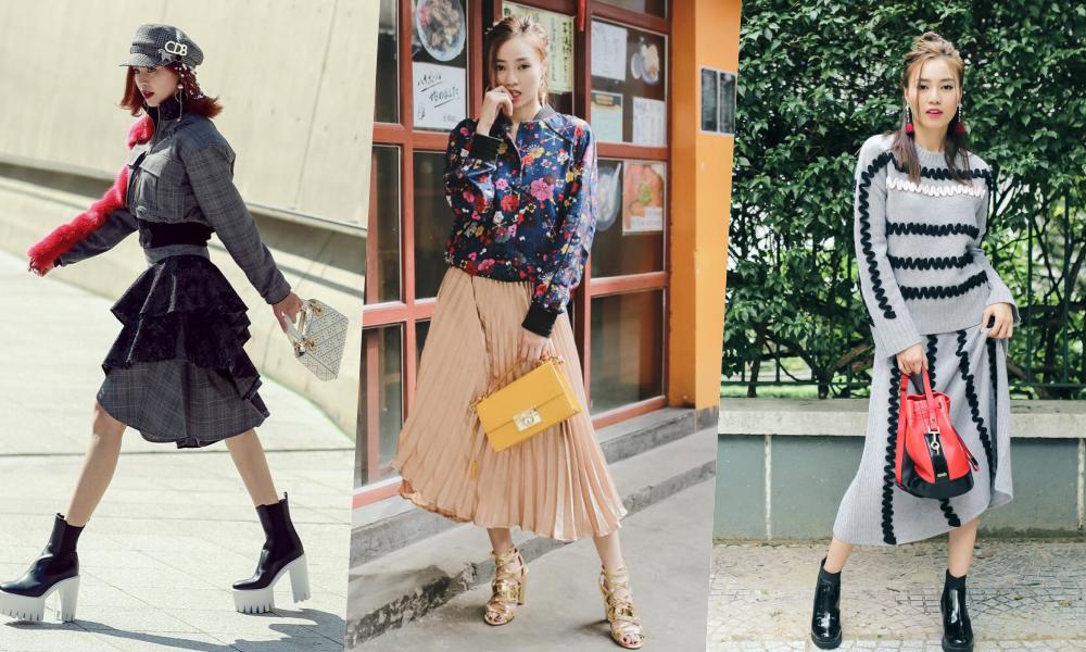 Gu thời trang của Ninh Dương Lan Ngọc: Mặc streetstyle đã chất, diện váy gợi cảm cũng rất thần thái  - Ảnh 1.