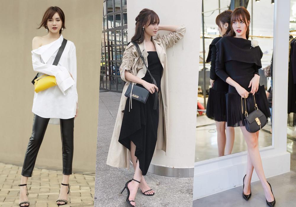 Gu thời trang của Ninh Dương Lan Ngọc: Mặc streetstyle đã chất, diện váy gợi cảm cũng rất thần thái  - Ảnh 2.