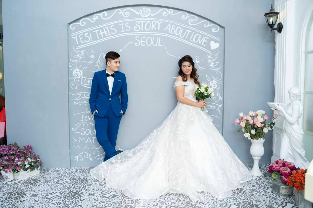 Chuyện tình của cặp đồng tính nữ: Chụp ảnh cưới trước rồi xin phép ba mẹ - Ảnh 6.