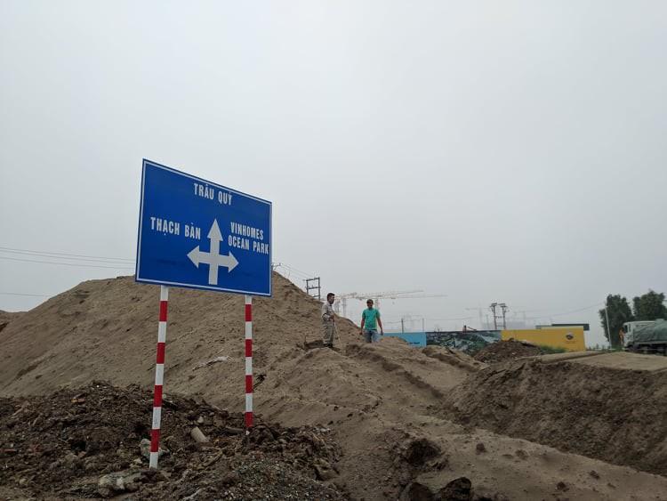 Siêu dự án đổ bộ, giá đất nền Gia Lâm tăng chóng mặt - Ảnh 1.