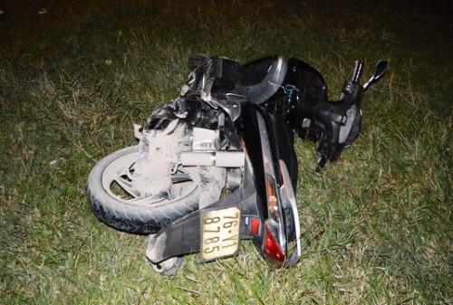 Tin tức pháp luật: Đình chỉ công tác thượng sĩ công an lái ô tô gây tai nạn rồi bỏ chạy - Ảnh 2.