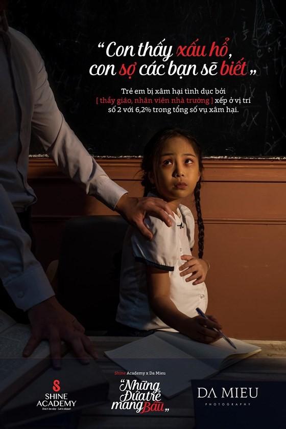 Những đứa trẻ mang bầu - Bộ ảnh gây rúng động về xâm hại trẻ em - Ảnh 4.