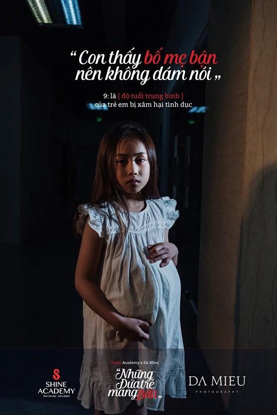 Những đứa trẻ mang bầu - Bộ ảnh gây rúng động về xâm hại trẻ em - Ảnh 5.