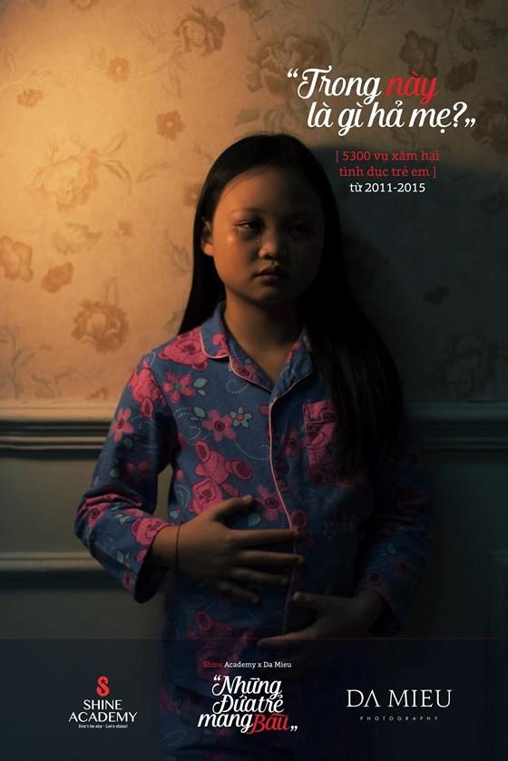 Những đứa trẻ mang bầu - Bộ ảnh gây rúng động về xâm hại trẻ em - Ảnh 6.