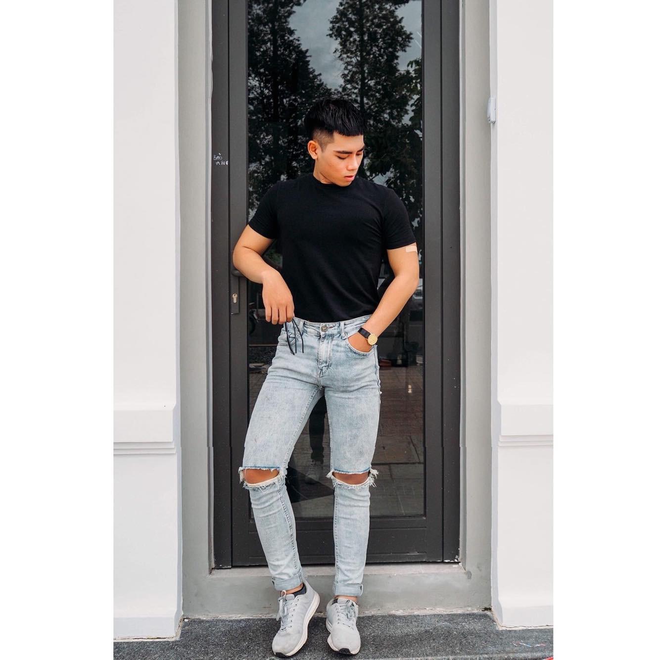 Khánh Sự - cực phẩm LGBT sở hữu những set đồ vừa đơn giản vừa thu hút - Ảnh 5.