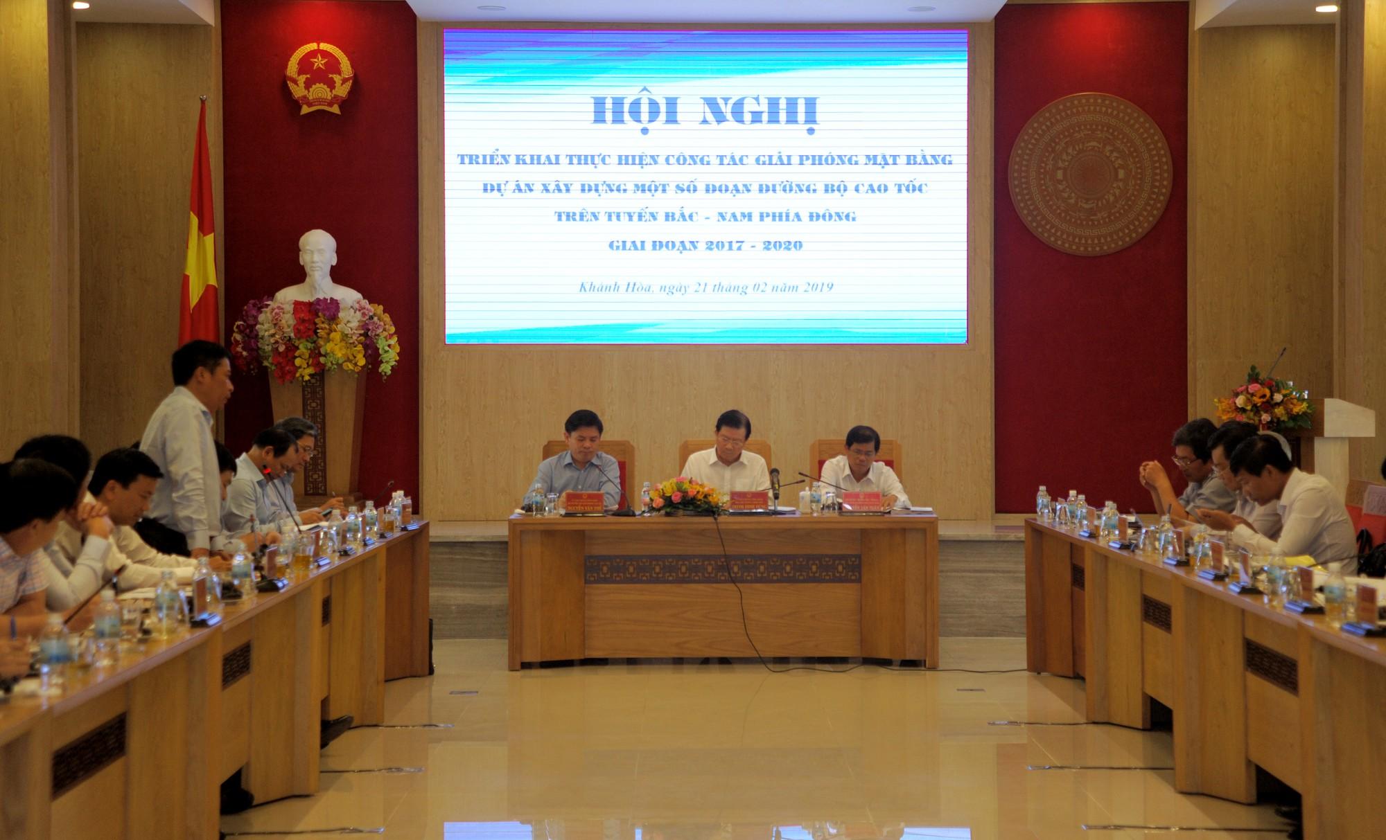Khánh Hòa: Công tác GPMB cao tốc Bắc - Nam phải đảm bảo lợi ích người dân - Ảnh 2.