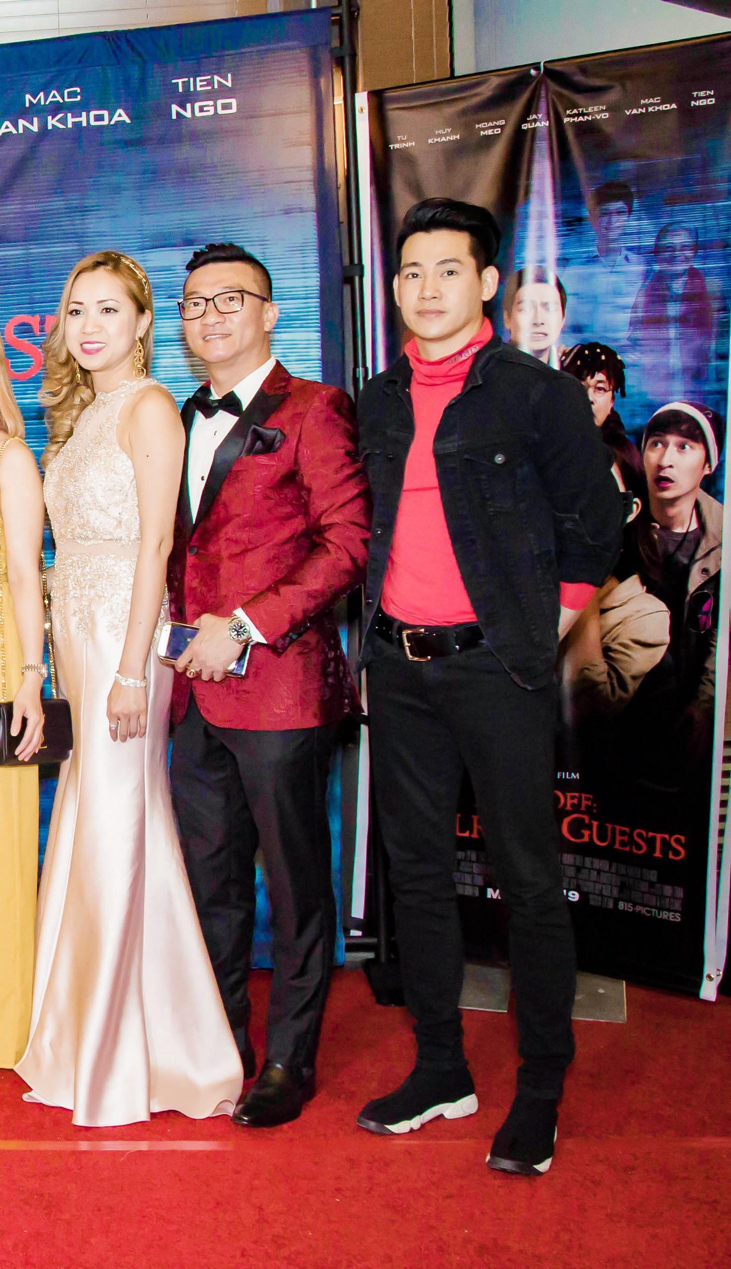 Vợ chồng Lý Hải - Minh Hà rạng rỡ trong ngày đưa phim sang Mỹ - Ảnh 4.