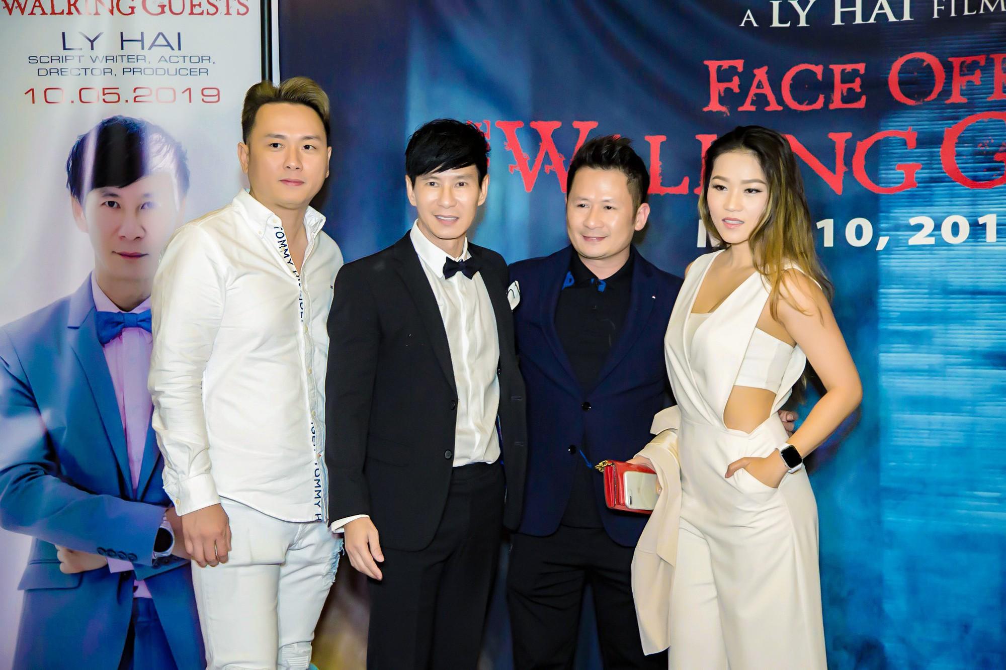 Vợ chồng Lý Hải - Minh Hà rạng rỡ trong ngày đưa phim sang Mỹ - Ảnh 5.
