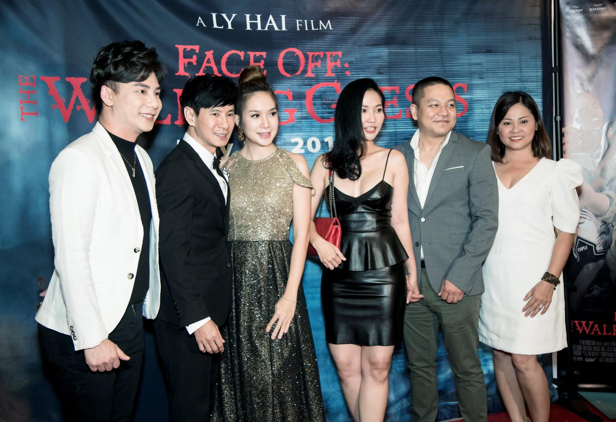 Vợ chồng Lý Hải - Minh Hà rạng rỡ trong ngày đưa phim sang Mỹ - Ảnh 2.
