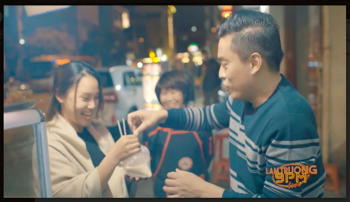 Lam Trường nướng bánh tráng và bán sữa đậu nành tại Đà Lạt khiến fan thích thú - Ảnh 6.