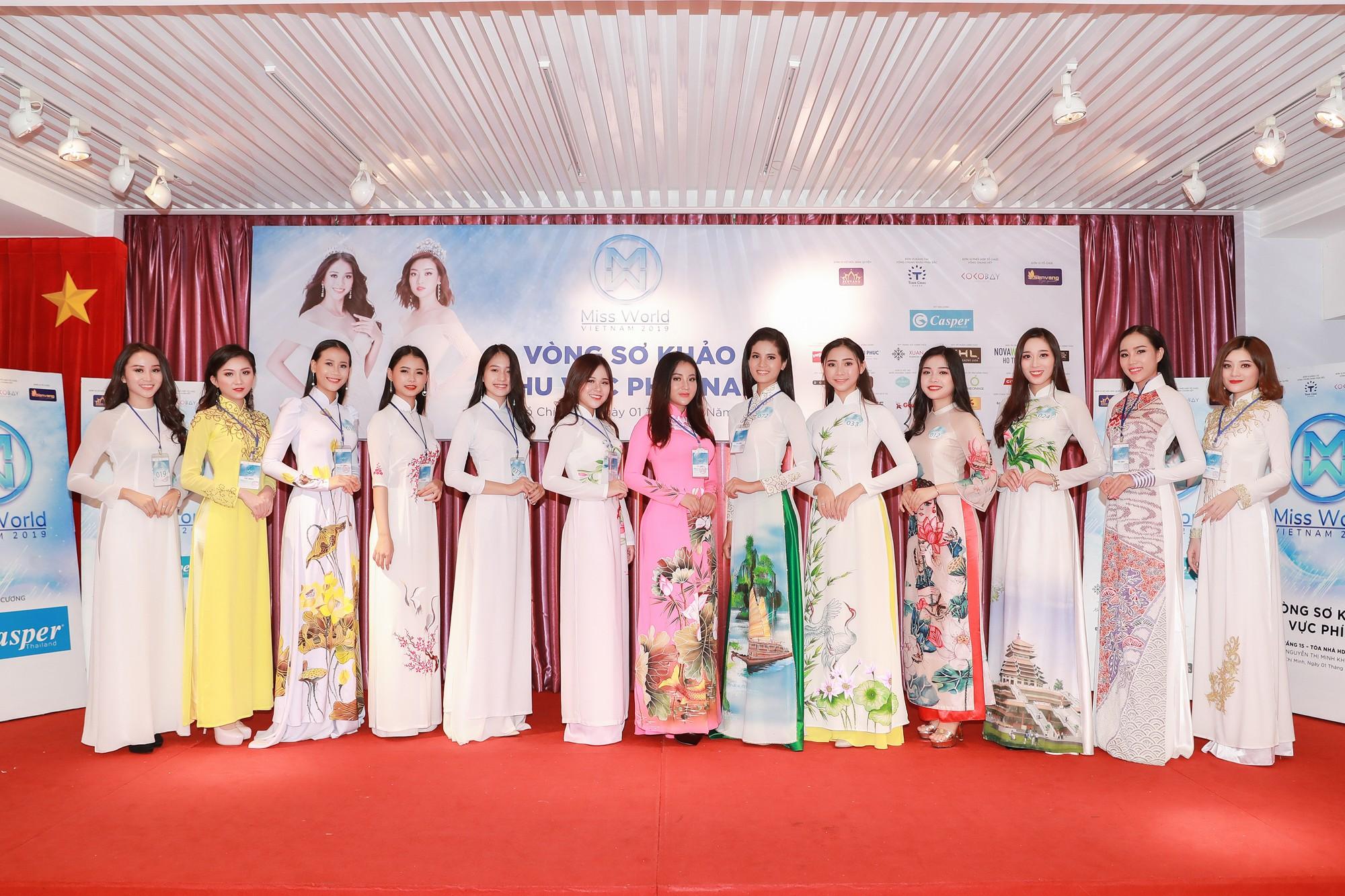 Top 34 thí sinh khu vực phía Nam Hoa hậu Thế giới Việt Nam 2019 chính thức lộ diện  - Ảnh 2.