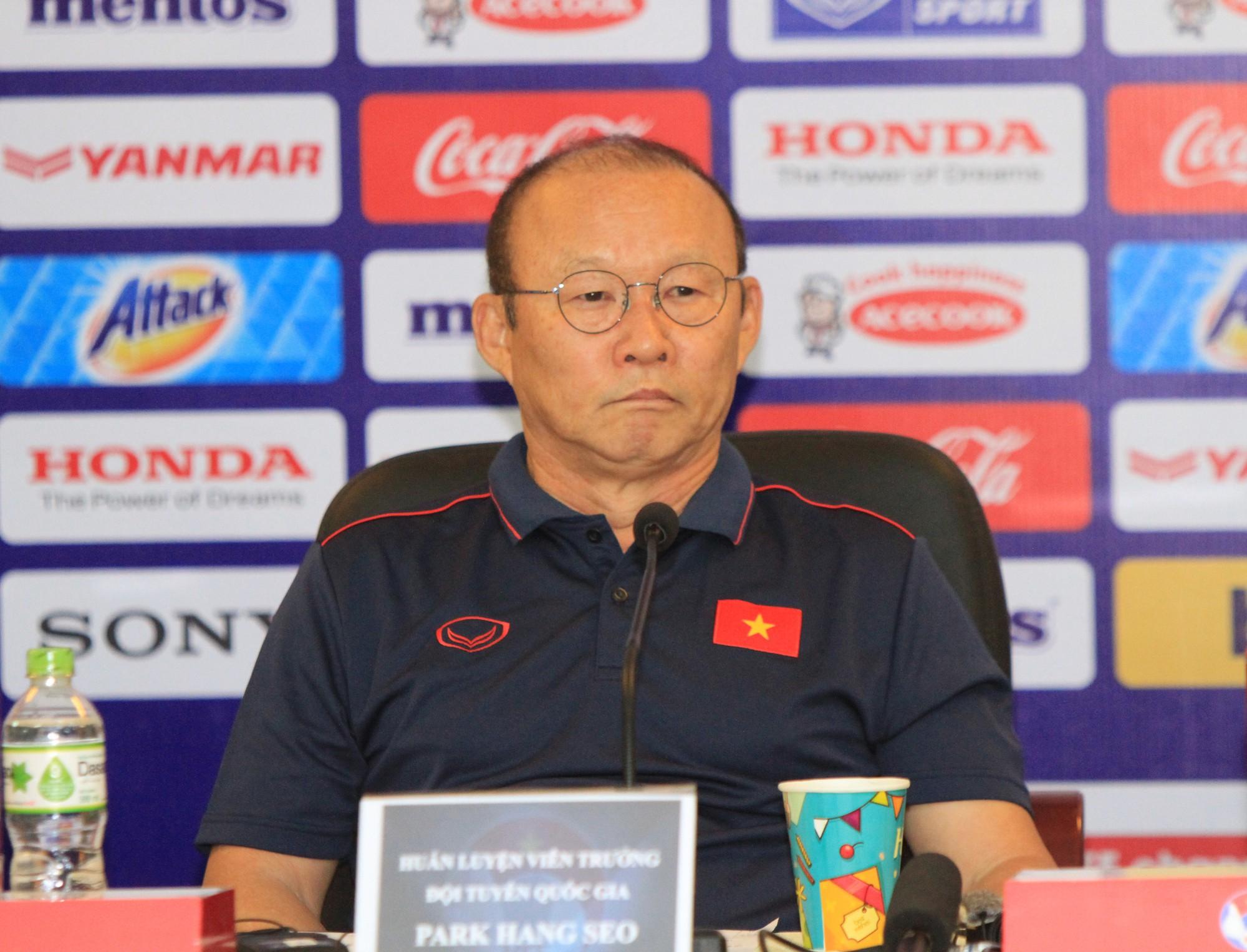 HLV Park Hang Seo: Thời điểm hiện tại, dù là Thái Lan hay bất kỳ đội nào chúng ta cũng không hề phải e ngại  - Ảnh 2.