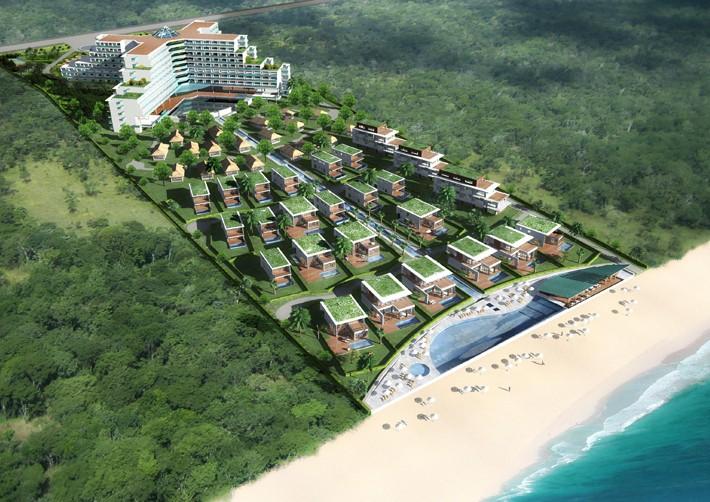 Cận cảnh dự án nghỉ dưỡng 756 tỉ đồng của công ty Đầu tư du lịch Hà Nội Non Nước xí phần rồi trễ hẹn 4 năm ở Đà Nẵng - Ảnh 3.