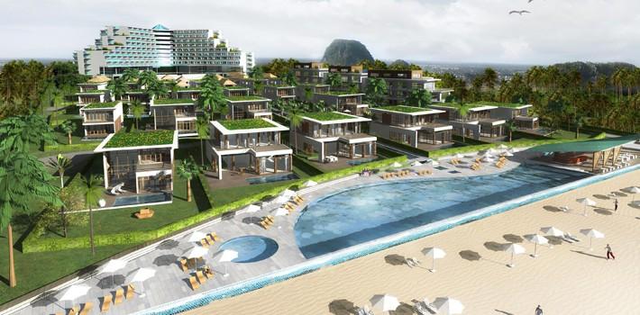 Cận cảnh dự án nghỉ dưỡng 756 tỉ đồng của công ty Đầu tư du lịch Hà Nội Non Nước xí phần rồi trễ hẹn 4 năm ở Đà Nẵng - Ảnh 2.
