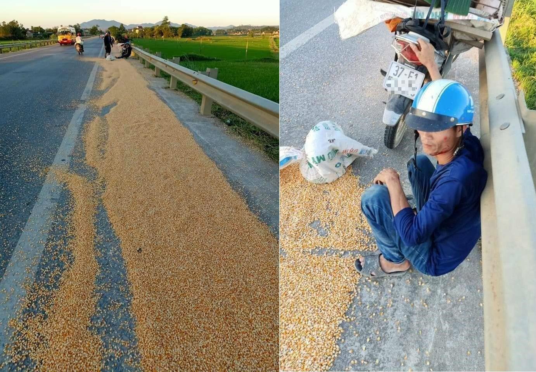 Phơi nông sản trên đường dẫn đến tai nạn giao thông có thể bị phạt tù? - Ảnh 1.