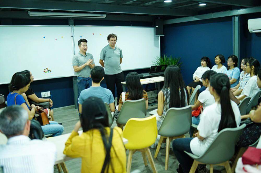Hồ Trung Dũng: Mở trường dạy tiếng Đức không vì mục đích kinh doanh hay lợi nhuận - Ảnh 3.