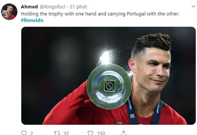 Messi bị chế nhạo trong ngày Ronaldo vô địch Nations League - Ảnh 5.