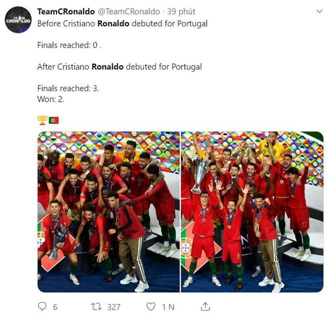 Messi bị chế nhạo trong ngày Ronaldo vô địch Nations League - Ảnh 7.