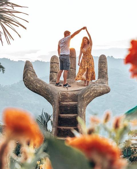 Bàn tay vàng trong làng sống ảo đẹp mê mẩn giữa rừng - Ảnh 8.