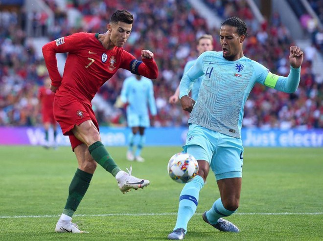 Messi bị chế nhạo trong ngày Ronaldo vô địch Nations League - Ảnh 9.
