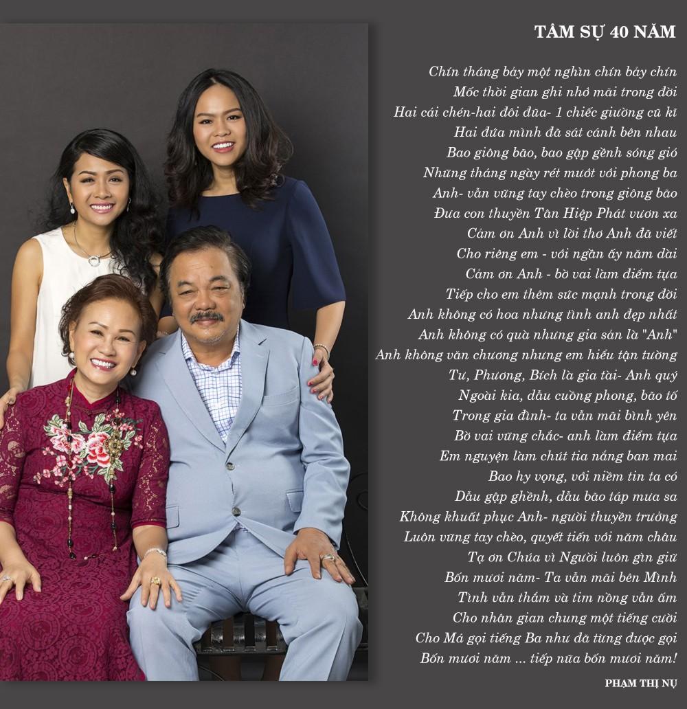 Vợ chồng nhà Dr Thanh làm thơ tình tặng nhau nhân kỉ niệm 40 năm ngày cưới - Ảnh 3.