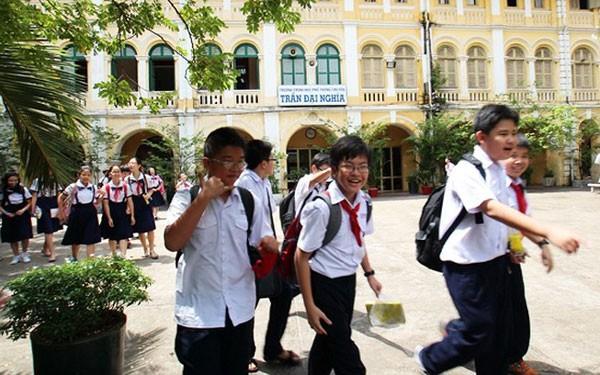 4.100 học sinh TP HCM thi vào lớp 6 trường chuyên Trần Đại Nghĩa - Ảnh 1.
